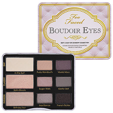 ★Too Faced★ Boudoir Eyes Soft & Sexy Eye Shadow Collection