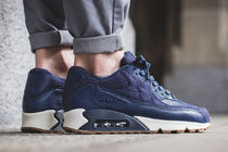"[NIKE]AIR MAX 90 PREMIUM ""MIDNIGHT NAVY""【送料込】"