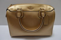 【即発3-5】 COACH MINI BENNETT SATCHEL F36624 2way GOLD