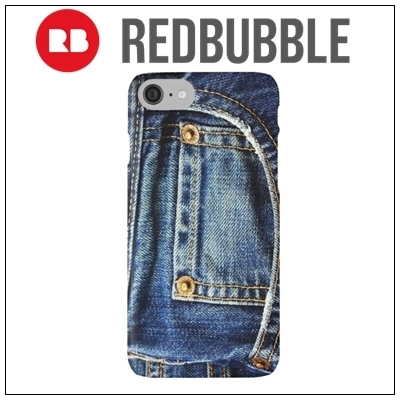 ☆RED BUBBLE jeans iPhoneケース☆送関込