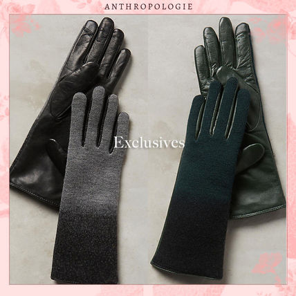 A beautiful, elegant long gloves glove leather leather