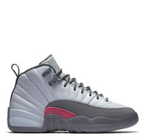 FW16 AIR JORDAN RETRO 12 GS GREY PINK 22.5-27.5cm 送料無料