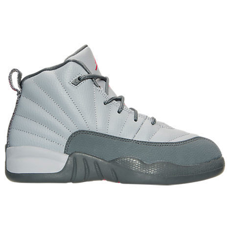 FW16 AIR JORDAN RETRO 12 PS GREY PINK 16.5-22cm 送料無料