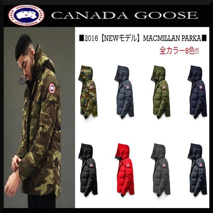 sold out about camouflage CANADA GOOSE MACMILLAN PARKA.