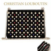 Christian Louboutin正規品EMS送料込み Triloubi チェーンバッグ