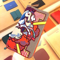 "HERMES 2016""""PEGASE POP""""☆Portefeuille AZAP☆VEAU SWIFT"