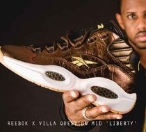 REEBOK X VILLA QUESTION MID 'LIBERTY' カッパー VILLA 限定