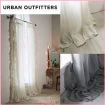 Urban Outfitters(アーバンアウトフィッターズ) カーテン 関送込☆国内発送☆Urban Outfitters☆フリルガーゼカーテン2色