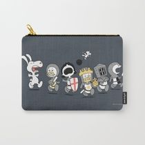 即納★【Society6】 RUN AWAY! RUN AWAY ポーチ