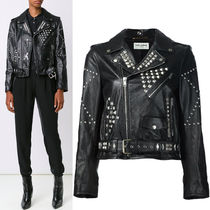 16-17AW WSL971 STUDDED CLASSIC MOTORCYCLE JACKET