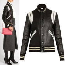 16-17AW WSL974 CLASSIC TEDDY JACKET IN LAMB LEATHER