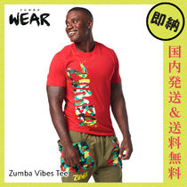 ZUMBA Vibes Tee|ズンバ メンズ Tシャツ Well Red