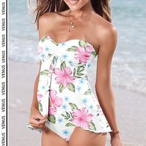 VENUS*FLY AWAY BANDEAU TANKINI & HIGH WAIST MODERATE BIKINI