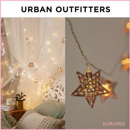Urban Outfitters star string lights