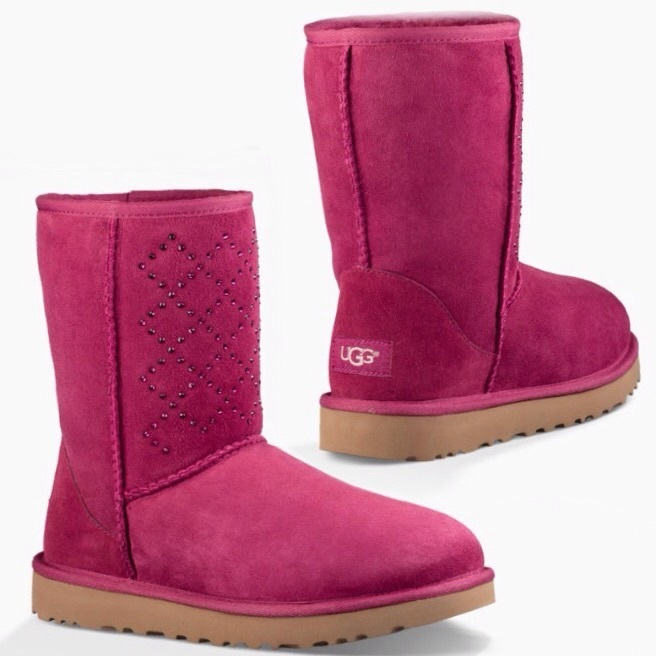 UGG☆16AW新作スワロフスキーCLASSIC SHORT CRYSTAL DIMOND