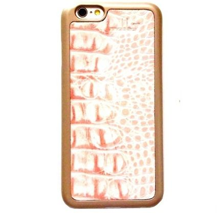 mabba iPhone・スマホケース mabba Der Rauber Coral iPhone 6 6s Case Kroko gold 即納(3)