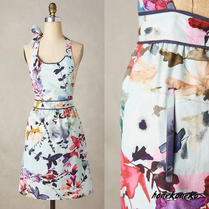 Anthropologie Wildflower research apron