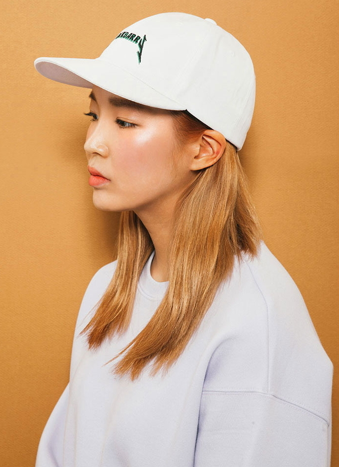 MACK BARRY(マクべーリ) ★ WHITE ROCK BARRY CURVE CAP