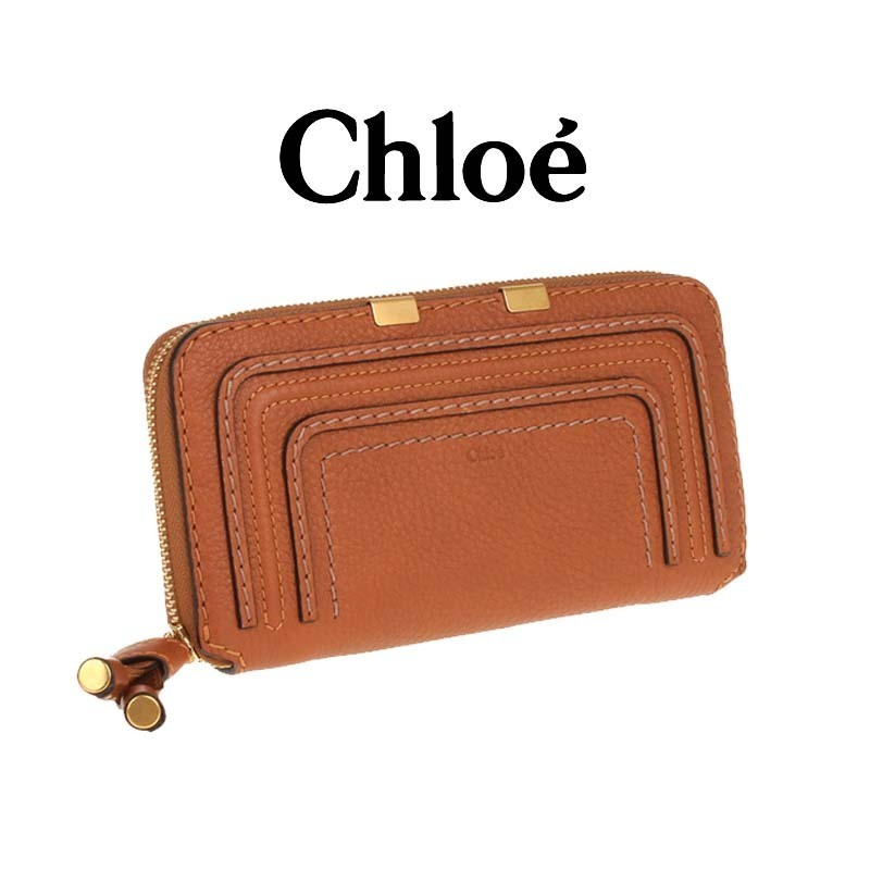 ☆Chloe(クロエ) ☆女性長財布・Marcie Long Zip Around Wallet