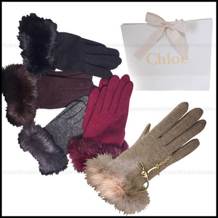 Gifts to the best Chloe * soft Preeminent fur with cashmere