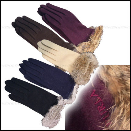 Gift 2-5 FURLA fur with gloves