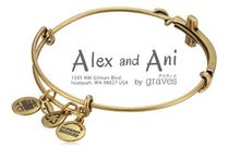 Alex and Ani(アレックス アンド アニ) アンクレット 【大人気】Alex and Ani Cross Expandable Wire Bangle Bracelet