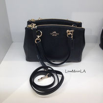 【COACH】大人気☆MINI CHRISTIE CARRYALL 2wayF57523☆Black☆
