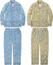Supreme(シュプリーム) ルームウェア・パジャマ 15A/W Supreme Paisley Flannel Pajama Set Blue パジャマセット