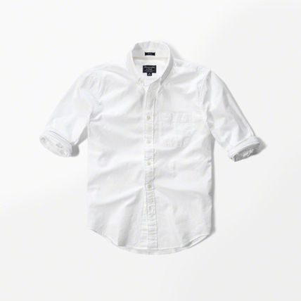 Abercrombie & Fitch シャツ 国内発送★アバクロ オックスフォード シャツ Abercrombie&Fitch(5)