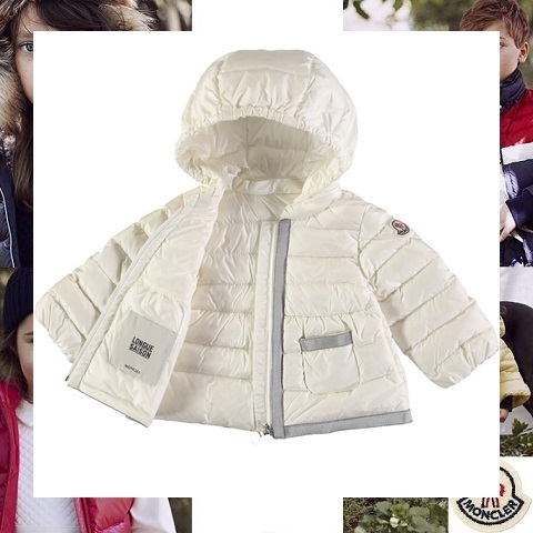MONCLER モンクレール Priscille ホワイトダウンパーカ 3-18ヵ月