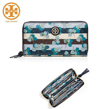【セール】kerrington ZIP CONTINENTAL WALLET 長財布 花柄