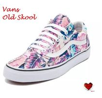 花柄 Vans Old Skool Tropical Skate Shoe