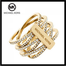 送料&関税込♪ Michael Kors☆ Spiral Coil Criss-Cross Ring