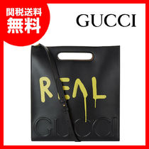 【GUCCI】グッチ★GucciGhost REALグラフィティトートバッグ