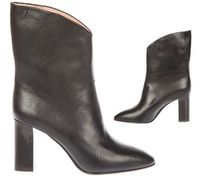 【VIP】数量限定 Acne(アクネ) AVA VNECK LEATHER ANKLE BOOTS