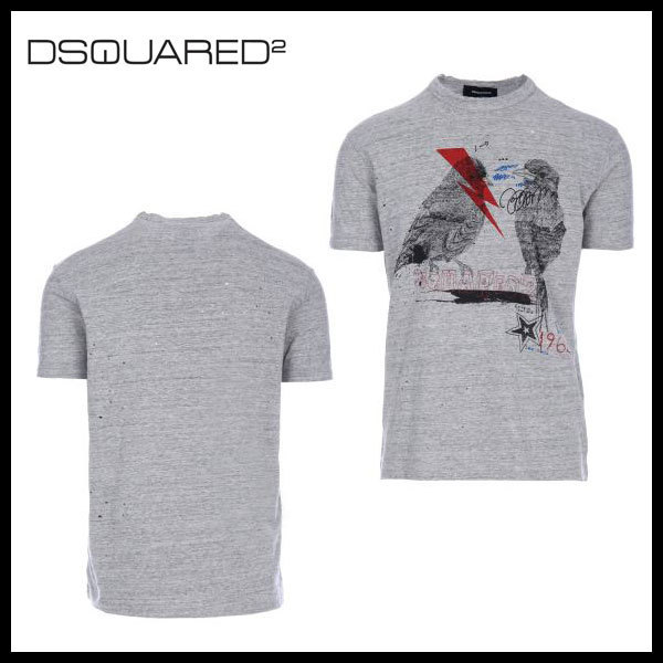 D SQUARED2 ディースクエアード 3D print Tシャツ