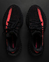 即完売 ADIDAS YEEZY BOOST 350 V2 (BY9612) black / red