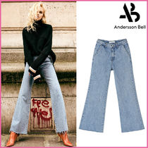 【ANDERSSON BELL】正規品★WIDE-LEGブーツカット JEANS/追跡付