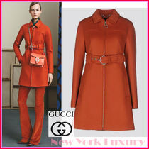 GUCCI★グッチ★素敵!NECTAR WOOL STRUCTURED DESIGN COAT