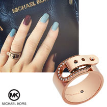 送料&関税込♪ Michael Kors☆ Rose Gold Buckle Ring