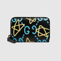 ◆GucciGhost card case Navy◆ グッチゴースト カードケース ◆