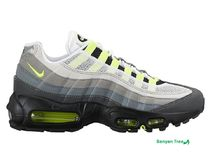 NIKE AIR MAX 95 Women's Black/Anthracite/Cool Grey/Volt