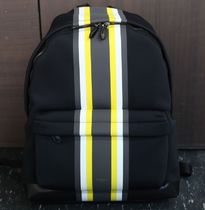【関税負担】 GIVENCHY STRIPE PRINTED BACKPACK