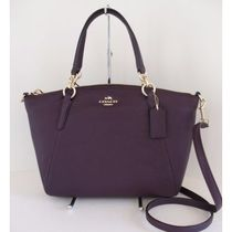 【COACH】 F36675 PEBBLE LEATHER SMALL KELSEY AUBERGINE 即発