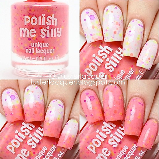 Polish Me Silly☆色が変わるネイル(Creamsicle Surprise)