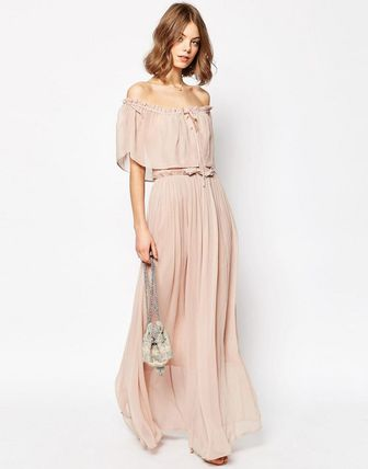 Shipping / ASOS teared off Maxi dress / N