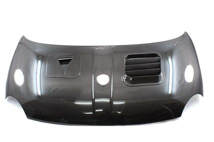 ABARTH 500 carbon bonnet air intake with