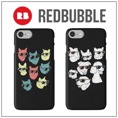 ☆RED BUBBLE animals iPhoneケース☆送関込
