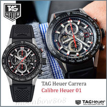 【 定番☆人気SALE】Carrera Calibre Heuer 01 Automatic 45 MM
