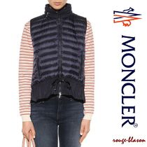 MONCLER(モンクレール) ダウンベスト 16-17AW新作!【国内発送】Moncler Quilted down gilet ネイビー